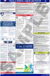 Texas and Federal Labor Law Poster